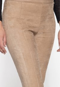 Amor, Trust & Truth - SLIM FIT - Trousers - beige - 3