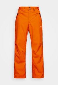 CRESCENT SHELL PANT - Snow pants - bold orange