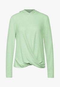 Street One - MIT KNOTEN - Long sleeved top - grün - 3