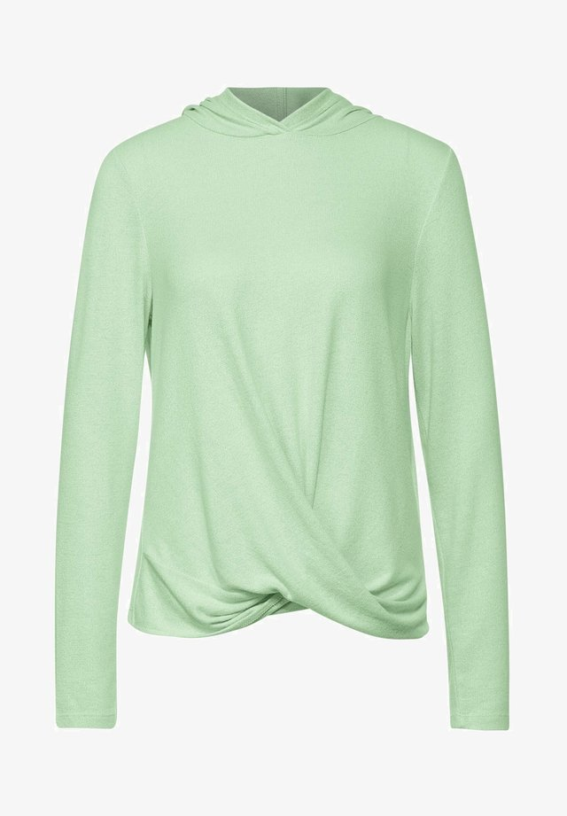MIT KNOTEN - Long sleeved top - grün