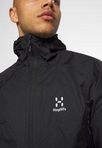 Haglöfs - PROOF MULTI JACKET MEN - Hardshell jacket - true black - 3