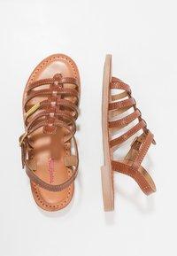Les Tropéziennes par M Belarbi - HIRSON - T-bar sandals - tan - 0