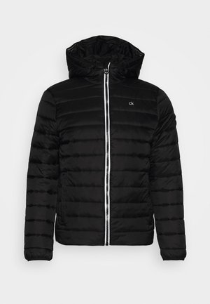 LIGHT WEIGHT LOGO HOODED LINER - Veste légère - black