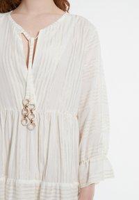 Ana Alcazar - Day dress - offwhite - 3