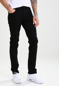 Lee - BROOKLYN  - Straight leg jeans - clean black - 0