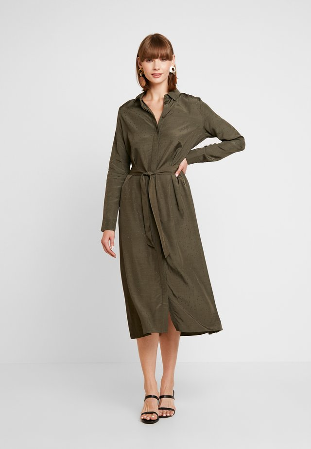 ENDATE DRESS - Maxi-jurk - olive night