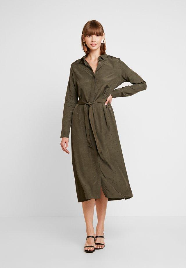ENDATE DRESS - Vestito lungo - olive night