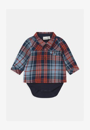 NBMODDER BABY - Shirt - burnt brick