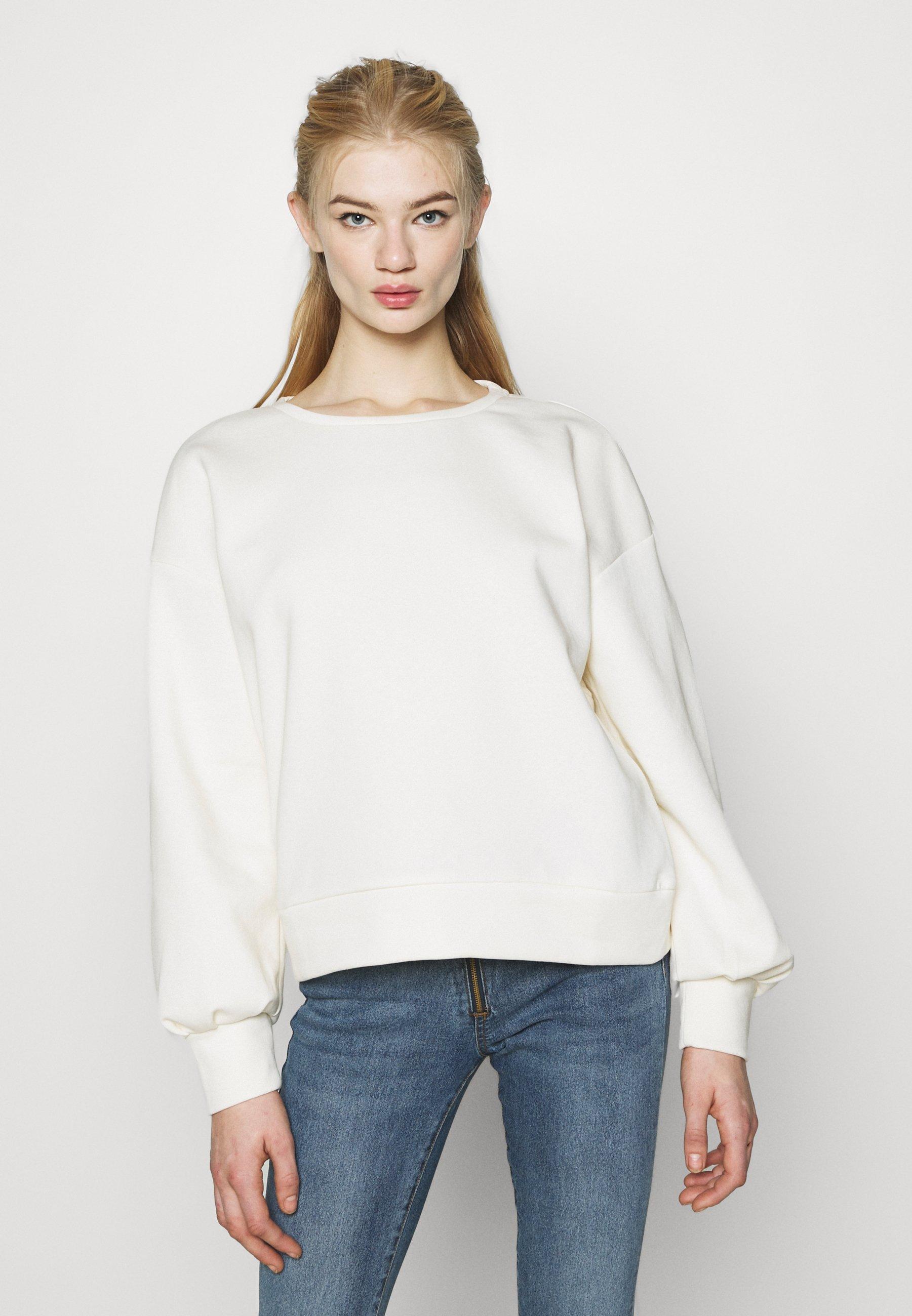 Women NMSENA CUT OUT - Sweatshirt