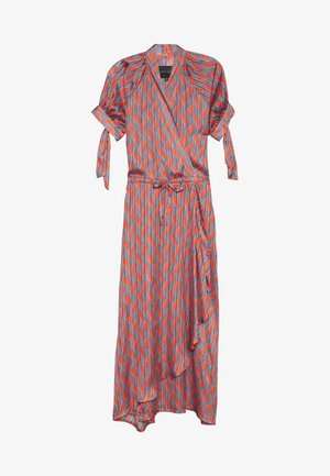 RALEIGHDRESS - Maxi dress - grey/orange