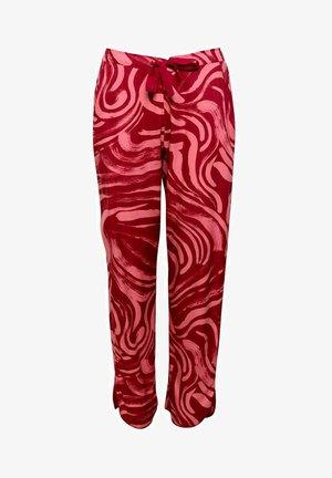 KRISTEN  - Pyjamahousut/-shortsit - red spiral