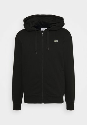 CLASSIC HOODIE JACKET - Jersey con capucha - black