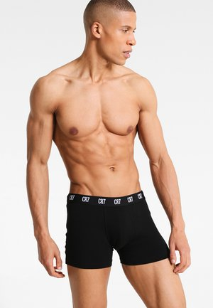 SEASONAL BASIC TRUNK 3 PACK - Pants - black
