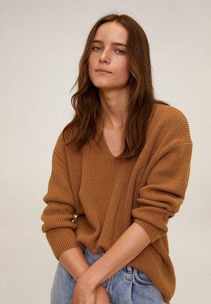 BOOP - Pullover - middenbruin