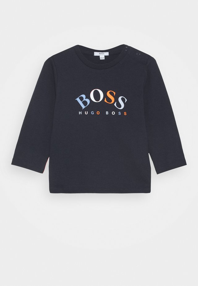 LONG SLEEVE BABY - Langærmede T-shirts - navy