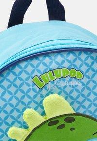 Kidzroom - BACKPACK LULUPOP & THE CUTIEPIES ANIMALS DINO UNISEX - Rucksack - blue/green - 3