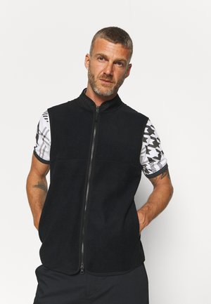 THERMA FIT VICTORY VEST - Waistcoat - black/white