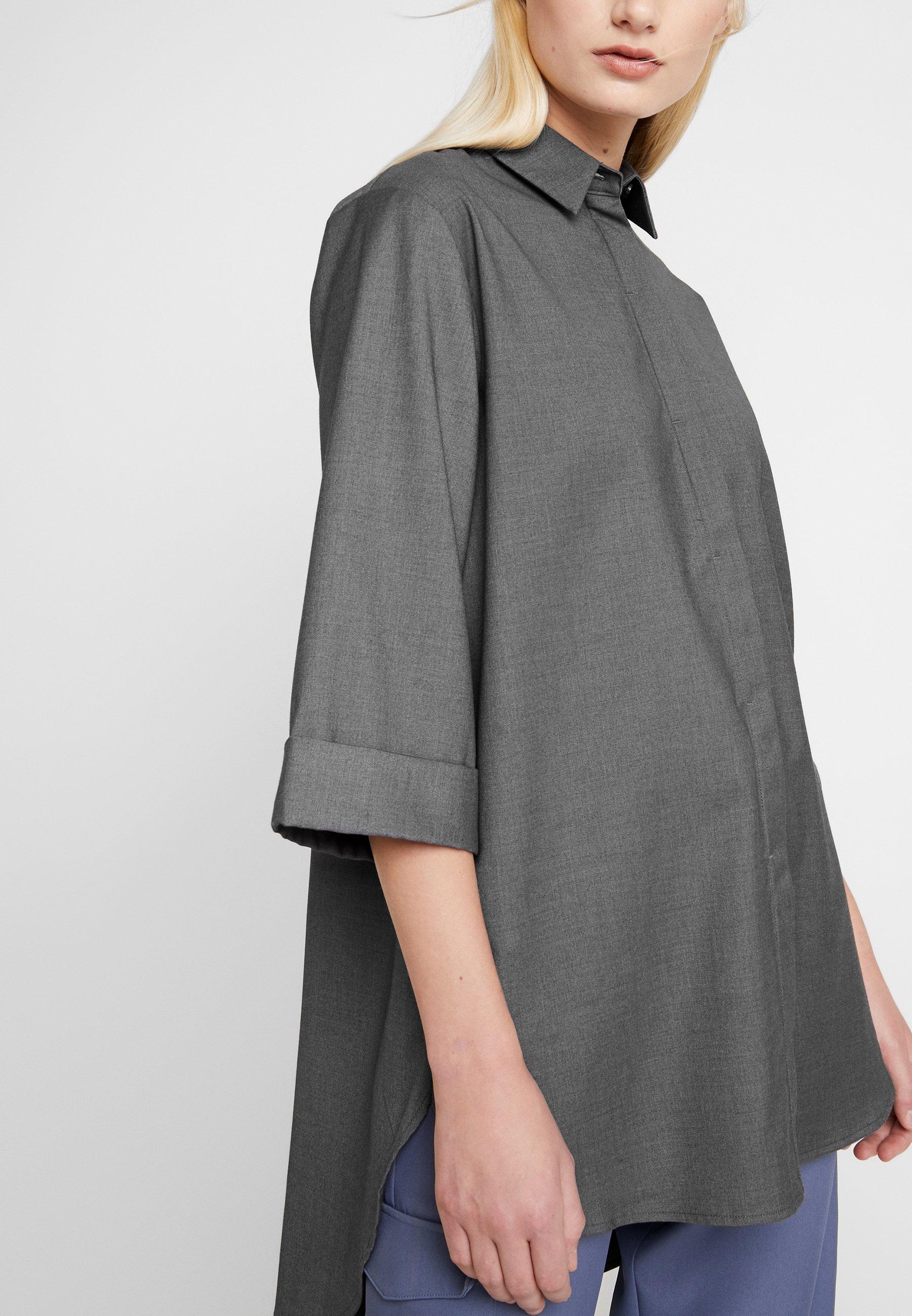 NORR HARLEY Skjorte dark greymørkegrå Zalando.no