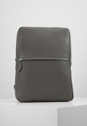 UNISEX LEATHER  - Sac à dos - grey
