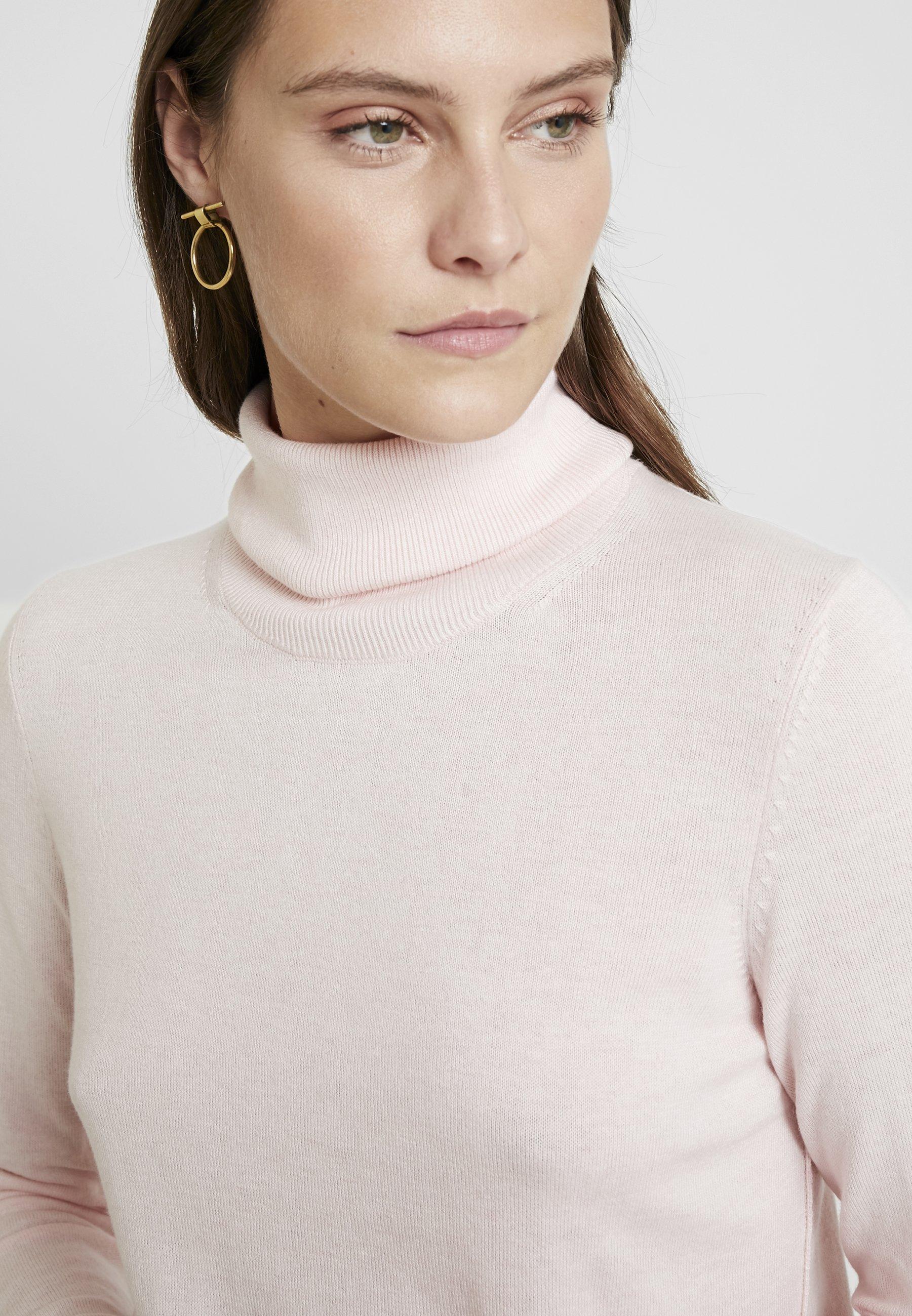 edc by Esprit TURTLEN Stickad tröja light pink Zalando.se