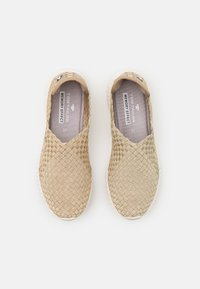TOM TAILOR - Slip-ons - beige/gold - 5