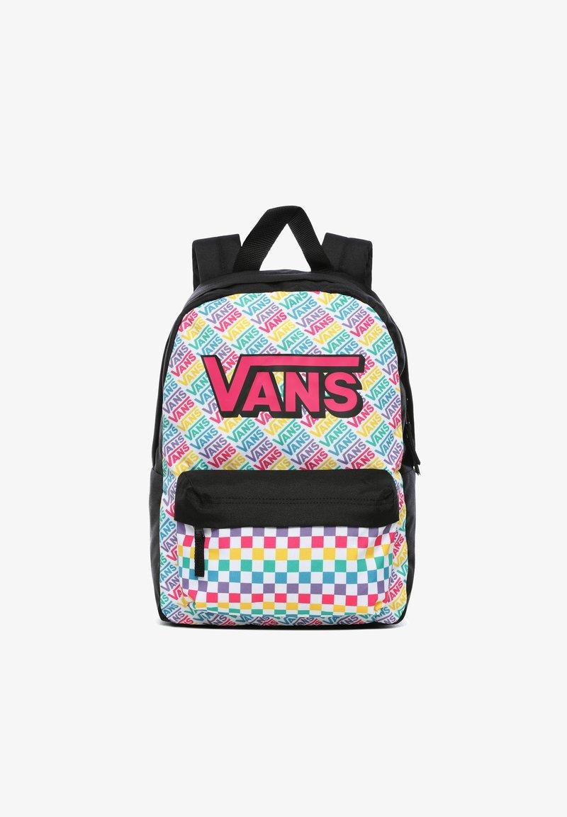 Vans - REALM - Plecak - girls multicheck