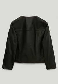 Massimo Dutti - Leather jacket - black - 6