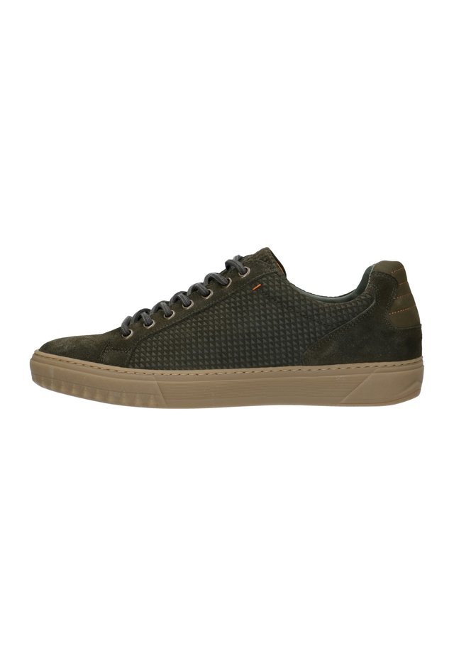 Sneakers laag - dunkelgrün