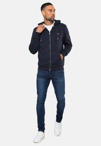 Threadbare - TANGERINE - Zip-up hoodie - blau - 1