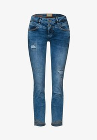 Street One - MIT NIETEN - Slim fit jeans - blau - 3