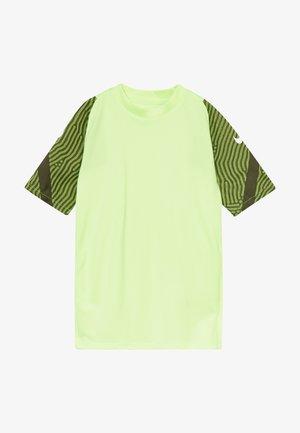 Print T-shirt - ghost green/cargo khaki/white