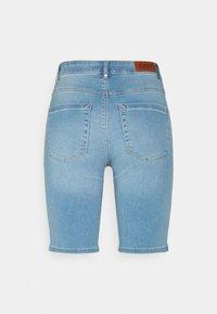 ONLY - ONLROYAL BIKE - Jeansshorts - light blue denim - 7