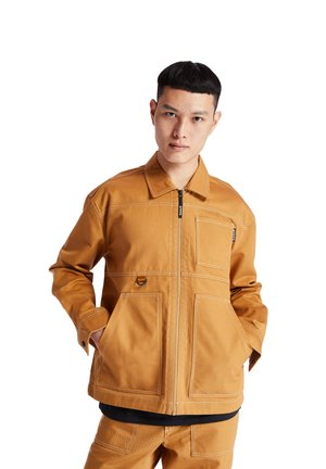 YC WORKWEAR JACKET - Summer jacket - wheat boot