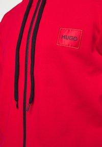 HUGO - DAPLE - Zip-up sweatshirt - open pink - 5