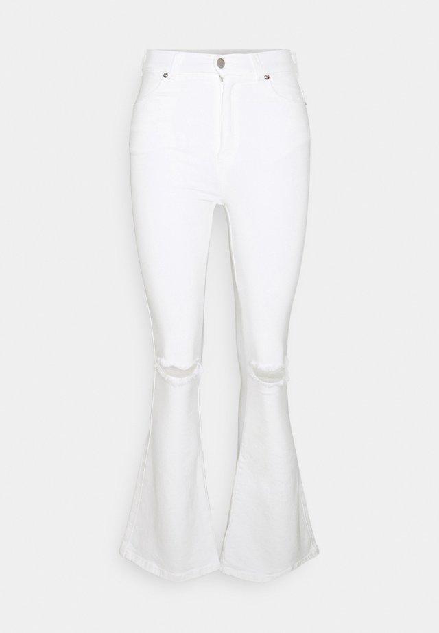 MOXY - Jeans a zampa - off-white