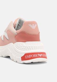 Emporio Armani - Trainers - light pink/white - 4