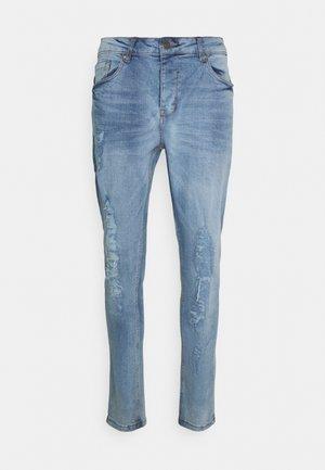 DISTRESSED RIP - Jeans straight leg - blue