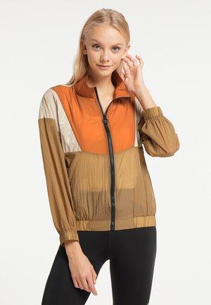 Summer jacket - rost braun