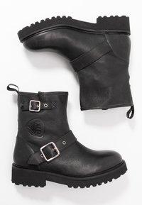 Blauer - IRVINE - Cowboy/biker ankle boot - black - 3
