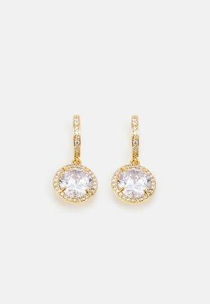 HUGGIES - Earrings - clear/gold-coloured