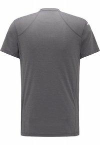 Haglöfs - L.I.M STRIVE TEE - Print T-shirt - magnetite - 5