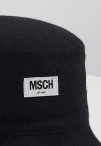 Moss Copenhagen - EMILIA BUCKET HAT - Hat - black - 3