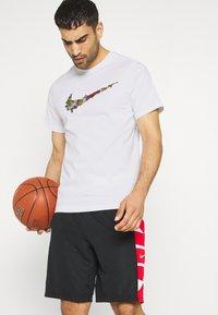 Nike Performance - FRAN TEE - Print T-shirt - white - 3