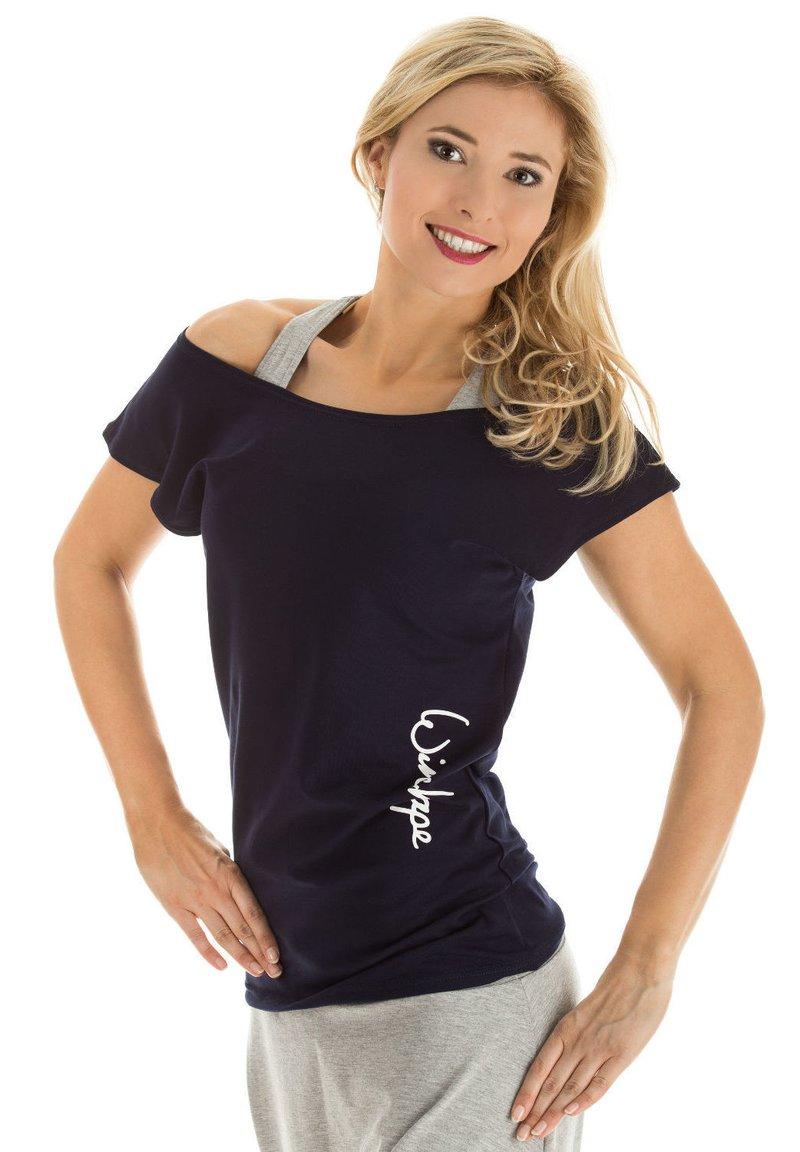 Winshape - Print T-shirt - night blue