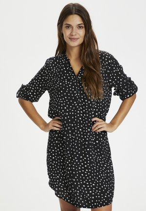 Day dress - black/chalk dots