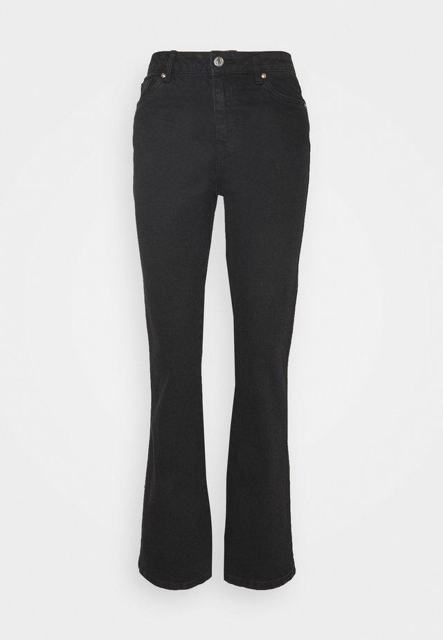 VMSAGA  - Flared Jeans - black