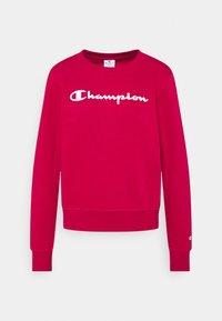 Champion - CREWNECK  - Sweatshirt - red - 4