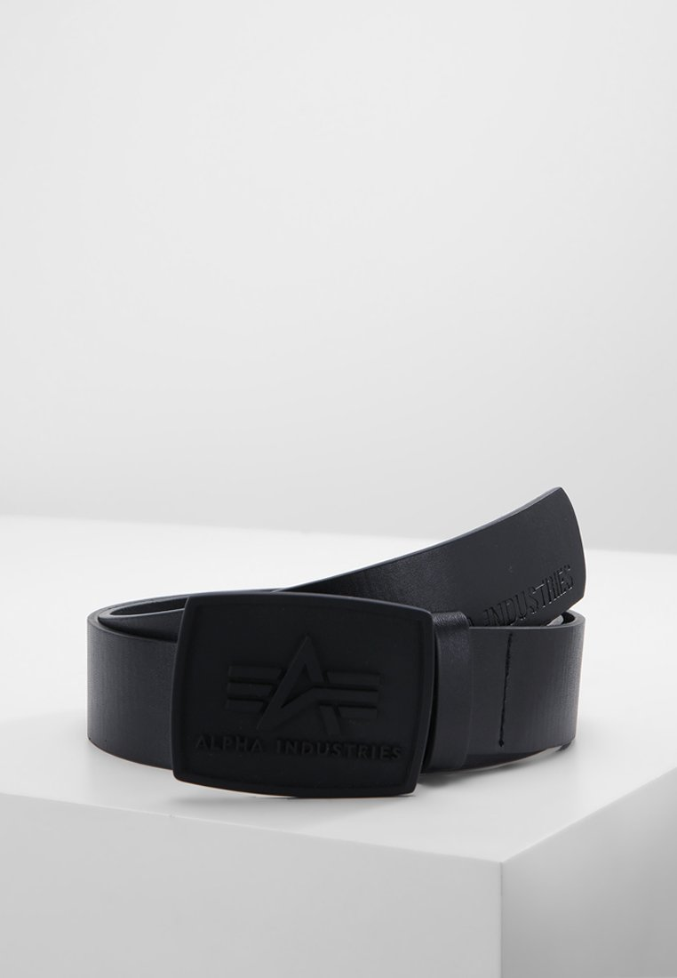 Alpha Industries - ALL BLACK BELT - Pásek - black