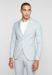 Isaac Dewhirst - WEDDING SUIT - Completo - light green - 2