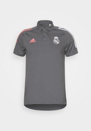REAL MADRID SPORTS FOOTBALL SHORT SLEEVE - Club wear - grey five